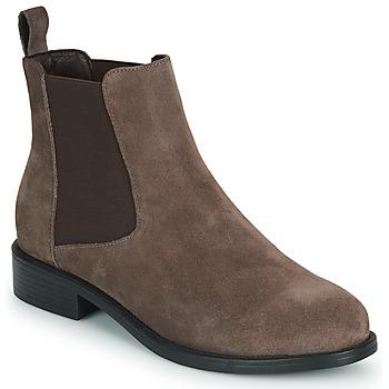 Zapatos Mujer Botas de caña baja Spot on F50979 Marrón
