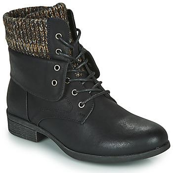 Zapatos Mujer Botas de caña baja Spot on F50613 Negro