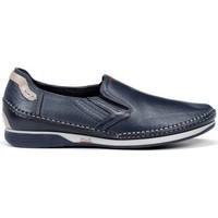 Zapatos Hombre Mocasín Fluchos James 9126 Azul azul