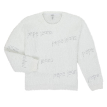 textil Niña Jerséis Pepe jeans AUDREY Blanco