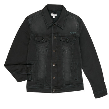 textil Niño Chaquetas denim Pepe jeans LEGENDARY Negro