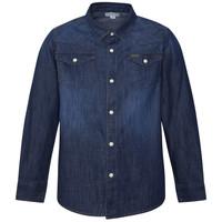 textil Niño Camisas manga larga Pepe jeans JHON Azul