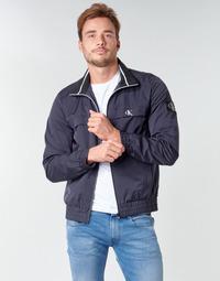 textil Hombre cazadoras Calvin Klein Jeans ZIP UP HARRINGTON Marino