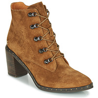 Zapatos Mujer Botines Mam'Zelle Necla Camel