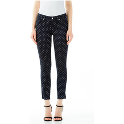 textil Mujer pantalones chinos Liu Jo BOTTOM UP IDEAL H.W. u9563-navy-etoile
