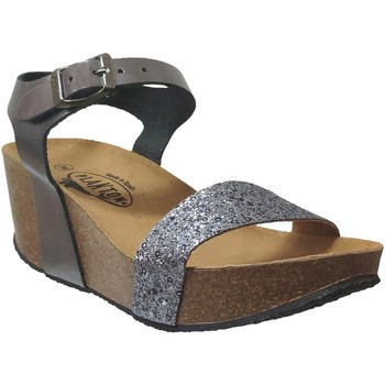 Zapatos Mujer Sandalias Plakton So kiss Cuero gris metal