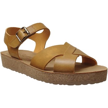 Zapatos Mujer Sandalias Mobils By Mephisto Candie Cuero amarillo