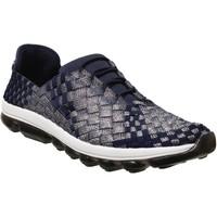 Zapatos Mujer Zapatillas bajas Bernie Mev Gummies victoria Azul marino/gris