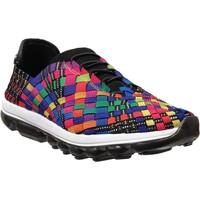 Zapatos Mujer Zapatillas bajas Bernie Mev Gummies victoria Negro multicolor