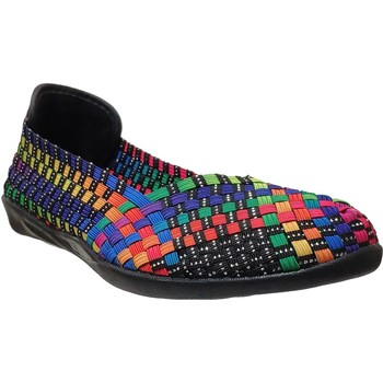 Zapatos Mujer Bailarinas-manoletinas Bernie Mev Catwalk Negro multicolor