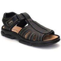 Zapatos Hombre Sandalias de deporte Morxiva Shoes Sandalias de hombre de piel by Morxiva Noir