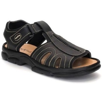 Zapatos Hombre Sandalias Morxiva Shoes Sandalias de hombre de piel by Morxiva Noir