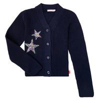 textil Niña Chaquetas de punto Billieblush / Billybandit U15758 Azul
