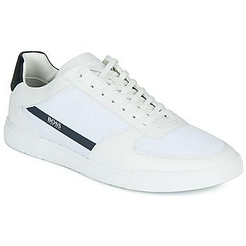 Zapatos Hombre Zapatillas bajas BOSS COSMOPOOL TENN MXME Blanco