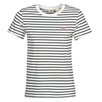 textil Mujer camisetas manga corta Levi's PERFECT TEE Cloud