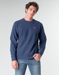 textil Hombre Sudaderas Levi's NEW ORIGINAL CREW Azul