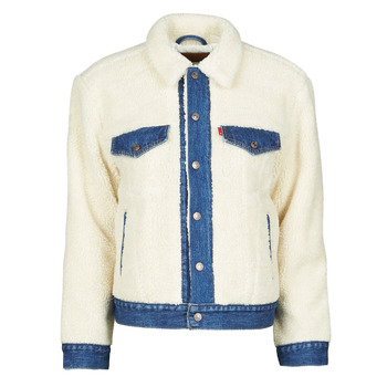 textil Mujer Chaquetas denim Levi's EX BF PIECED TRCKR Counting / Oveja