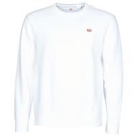 textil Hombre Sudaderas Levi's NEW ORIGINAL CREW Blanco