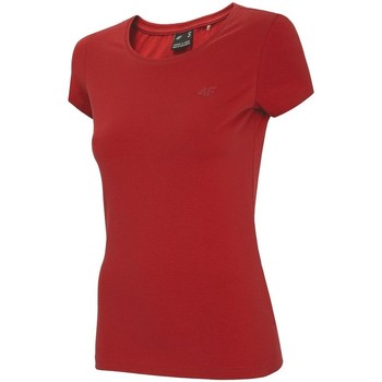 textil Mujer Camisetas manga corta 4F TSD001 Rojos