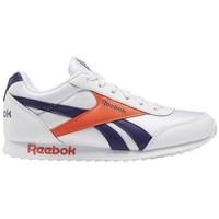 Zapatos Niños Zapatillas bajas Reebok Sport Royal CL Jogger Blanco, De color naranja, Violeta