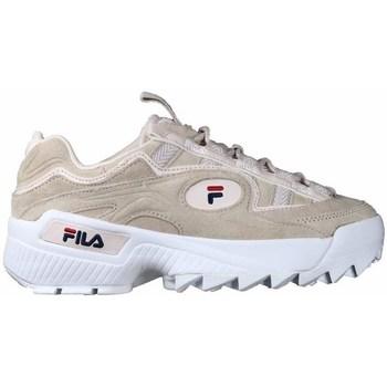 Zapatos Mujer Zapatillas bajas Fila Dformation S Wmn Blanco,Beige
