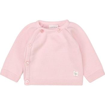 textil Niña Camisetas manga larga Carrément Beau Y95228 Rosa