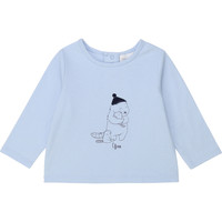 textil Niño Camisetas manga larga Carrément Beau Y95249 Azul