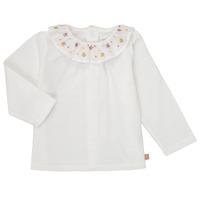 textil Niña Camisetas manga larga Carrément Beau Y95244 Blanco
