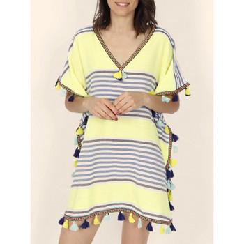 textil Mujer Túnicas Admas Caftán de playa Sun verde Verde Oscuro