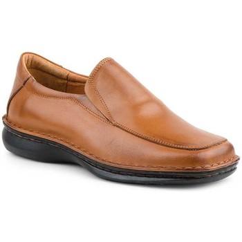 Zapatos Hombre Mocasín Cactus Calzados Mocasines de hombre de piel by Cactus Marron