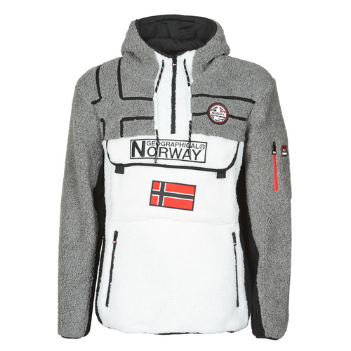textil Hombre Polaire Geographical Norway RIAKOLO Blanco