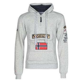 textil Hombre Sudaderas Geographical Norway GYMCLASS Gris / Mezcla