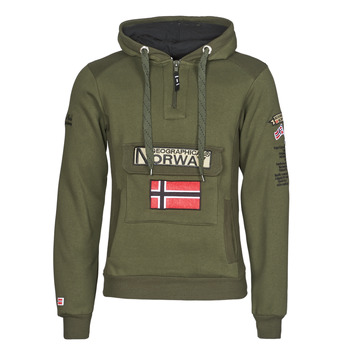 textil Hombre Sudaderas Geographical Norway GYMCLASS Kaki