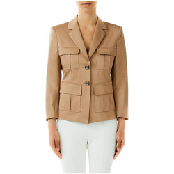 textil Mujer Chaquetas / Americana Liu Jo GIACCA SAHARIANA x0271-biscuit-cookie