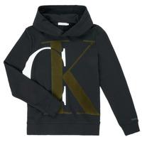 textil Niño Sudaderas Calvin Klein Jeans IB0IB00628-BEH Negro