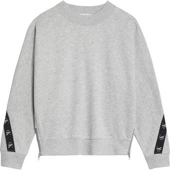 textil Niña Sudaderas Calvin Klein Jeans IG0IG00687-PZ2 Gris