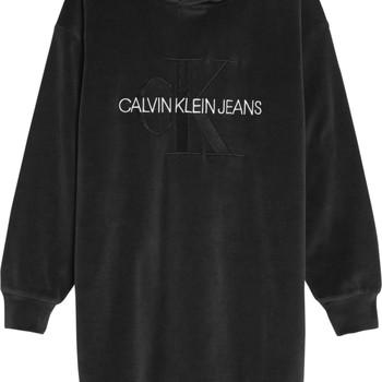 textil Niña Vestidos cortos Calvin Klein Jeans IG0IG00711-BEH Negro