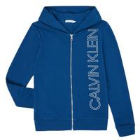textil Niño Sudaderas Calvin Klein Jeans IB0IB00668-C5G Azul