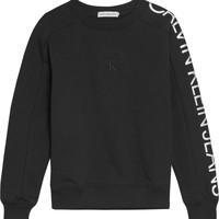 textil Niña Sudaderas Calvin Klein Jeans IG0IG00691-BEH Negro