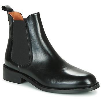 Zapatos Mujer Botas de caña baja Jonak Dagos Negro
