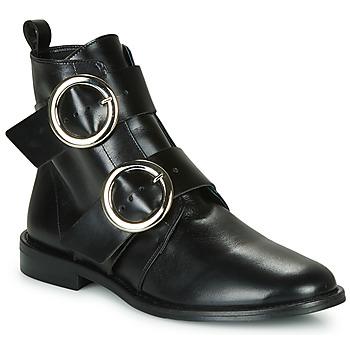 Zapatos Mujer Botas de caña baja Jonak Diafo Negro
