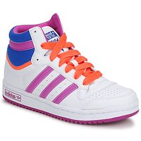 Zapatos Niña Zapatillas altas adidas Originals TOPTEN HI K Blanco / Rosa / Azul
