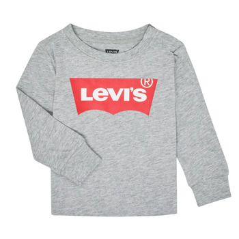 textil Niño Camisetas manga larga Levi's BATWING TEE LS Gris