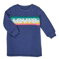 textil Niña Vestidos cortos Levi's SWEATSHIRT DRESS Azul