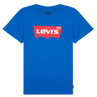 textil Niño Camisetas manga corta Levi's BATWING TEE Azul