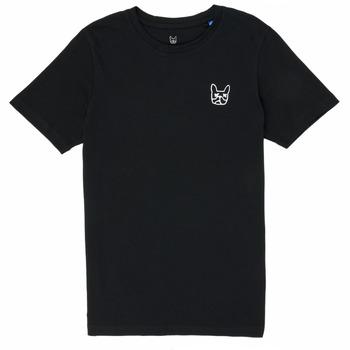 textil Niño Camisetas manga corta Jack & Jones JJAARHUS TEE Negro