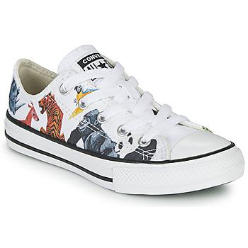 Zapatos Niños Zapatillas bajas Converse Chuck Taylor All Star - Science Class Blanco / Multicolor