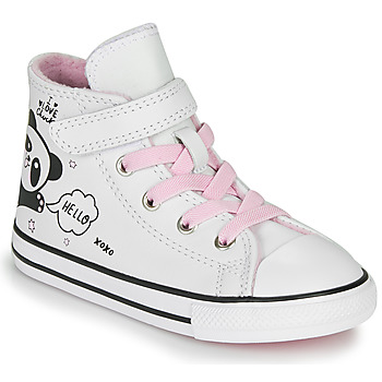 Zapatos Niña Zapatillas altas Converse Chuck Taylor All Star 1V - Notes from BFF Blanco