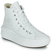 Zapatos Mujer Zapatillas altas Converse Chuck Taylor All Star Move Canvas Color Hi Blanco