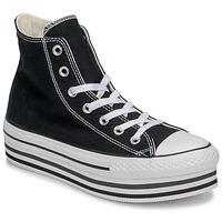 Zapatos Mujer Zapatillas altas Converse CHUCK TAYLOR ALL STAR PLATFORM EVA LAYER CANVAS HI Negro